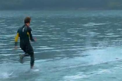Hi-Tec: walk on water viral hits four million
