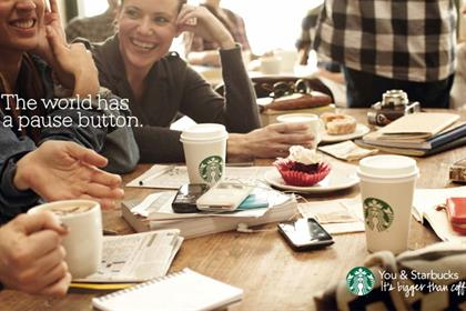 Starbucks: Kitcatt Nohr Digitas will be responsible for CRM