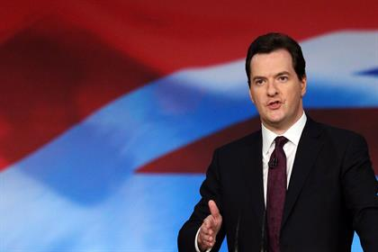 Osborne…hopes emergence from recession will boost business confidence. Credit: Getty Images
