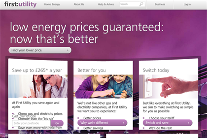 First Utility: Goodstuff will handle media for the brand in its drive to challenge the