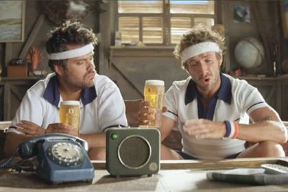Foster's: the Australian Brad and Dan characters created by Adam & Eve/DDB
