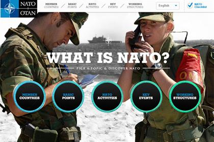Nato: hires M&C Saatchi