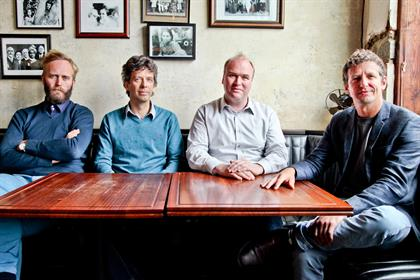 Poke…the founders (l-r) Roope, Beech, Hostler and Farnhill have an earn-out option after three years