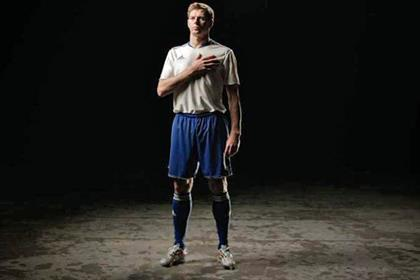 Steven Gerrard: England star features in Lucozade promotion