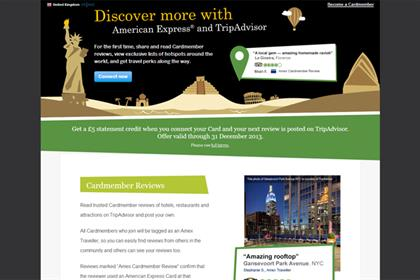 American Express: partnership with TripAdvisor
