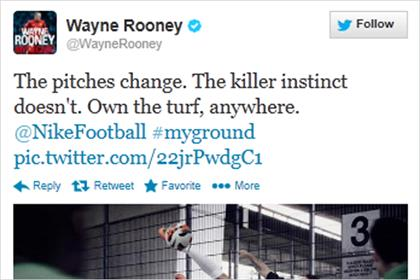 Wayne Rooney: tweet attracts attention of the ASA