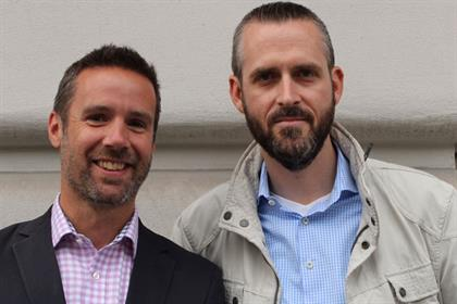 Joining forces: Steve Bell of Iris and Markus Dunz of Pepper Global