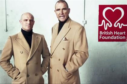British Heart Foundation: the incumbent, Grey London, has been knocked out