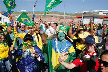 World Cup: mobile and social media usage has grown substantially since the 2010 tournament. Credit: Getty Images