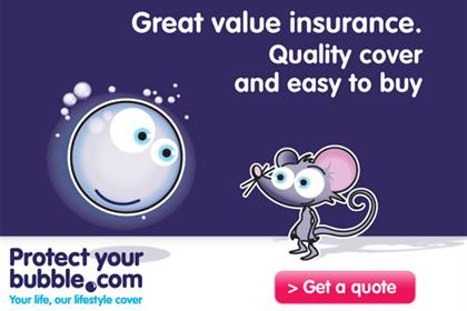 Protect Your Bubble: insurance brand seeks creative agency