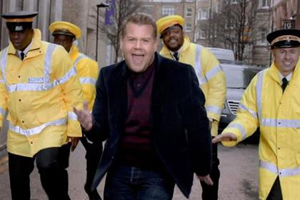 Gravity Road: recent work for Cadbury Dairy Milk featuring James Corden