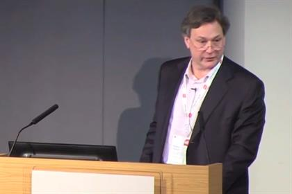 Rupert Howell: the Trinity Mirror executive addresses the ABC Interaction 2014 conference