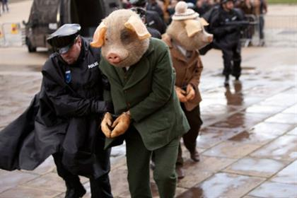 The Guardian: 'three little pigs' by Bartle Bogle Hegarty