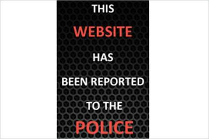 Online warning: police target copyright-nfringing websites