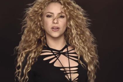 Shakira: tops the World Cup poll with 'la la la' for Activia