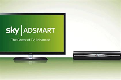 Sky AdSmart: targeted TV ad service launched officially in January