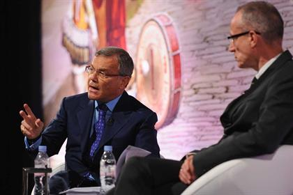 Advertising Week: Sir Martin Sorrell (l) and Robert Thomson