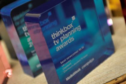Thinkbox TV Planning Awards: now open for entries
