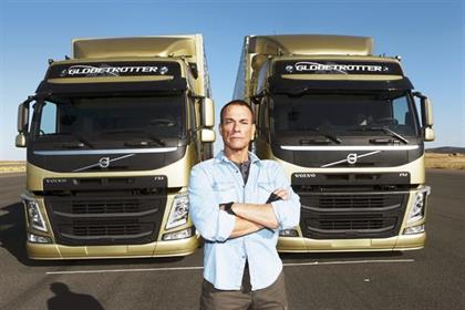 Volvo Trucks won a Black Pencil for
