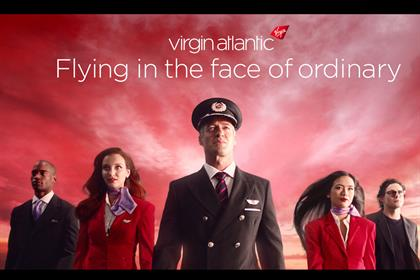 Virgin Atlantic: A&E/DDB beat three to win the business