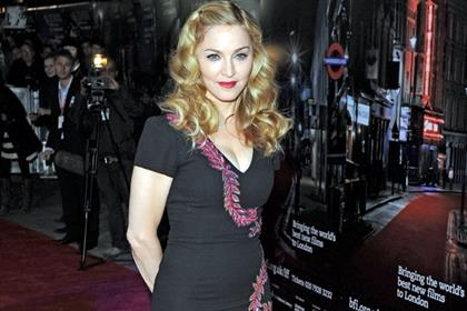 Star attraction: Madonna attended the 2011 London Film Festival