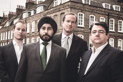 WESS founders (l-r): Andrew Whitehurst, Jag Singh, Matthew Elliott and Paul Staines