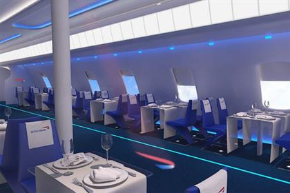 British Airways: airplane-themed pop-up restaurant