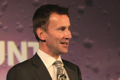 Jeremy Hunt: Health Minister