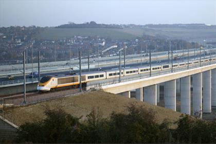 Cross-country: HS1 runs from London to the Channel Tunnel