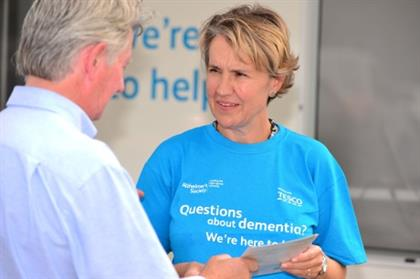 Alzheimer's Society director of external affairs Alison Cook