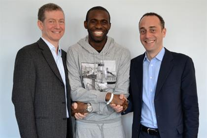 Fabrice Muamba with doctors: hired PHA Media (Pic: David Brookes)
