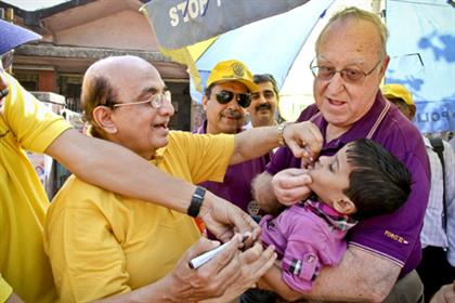 Beating polio: Rotary celebrates the eradication of polio in India