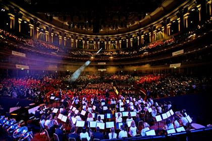 Royal Albert Hall: wants to promote its open to everyone