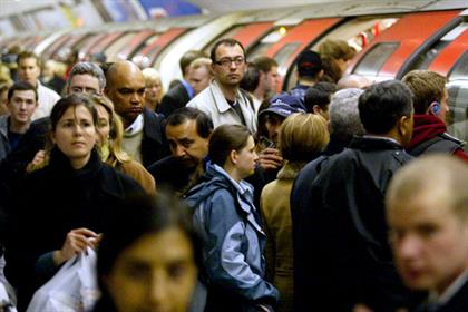 Feeling the strain: The Tube will handle millions of extra travellers (Rex Features)