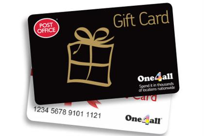 Gift cards: One4all