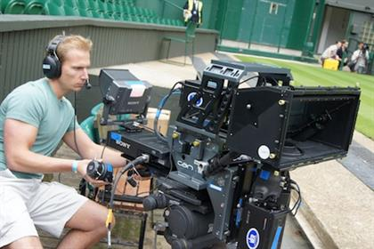 Sony's 3D shoot of Wimbledon in 2011 was promoted by Bite