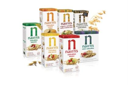 Nairn's: hoping to raise the profile of its oatcakes around the UK