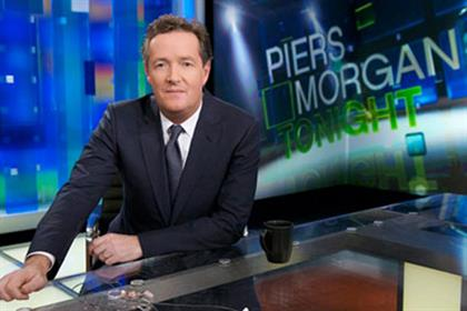 Piers Morgan: took over the 9pm slot on CNN three years ago