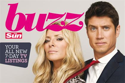 Buzz: The Sun's new TV magazine