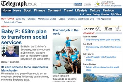 Telegraph Media Group: paid search deal with Jellyfish