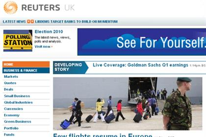 Reuters: overhauls website