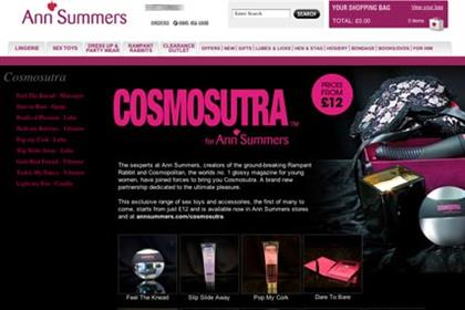 Cosmosutra: Ann Summers teams up with Cosmopolitan