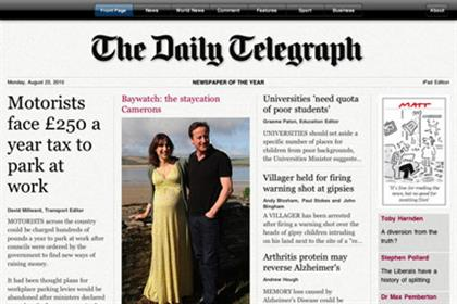 Telegraph: Audi-sponsored iPad app goes live