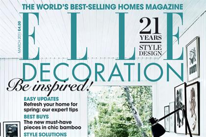 Elle Decoration posted the biggest circulation increase in the homes sector