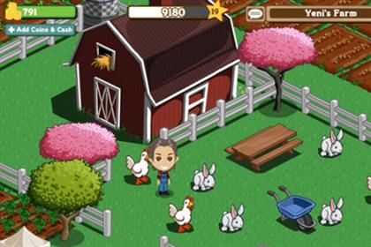 FarmVille: Zynga game