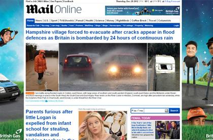 Mail Online: labelled the crack cocaine of journalism