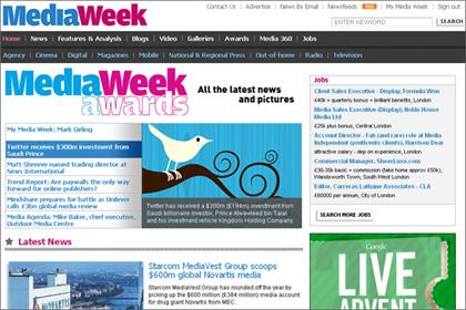 Media Week: publishes its top 10 stories from 2011
