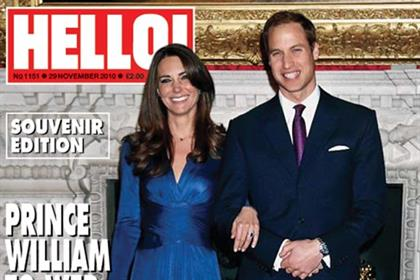 Hello! magazine's royal engagement souvenir edition