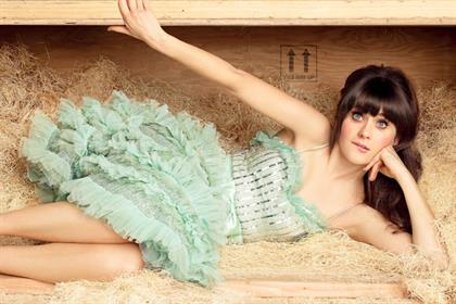 New Girl: Zooey Deschanel as Jess in the C4 show