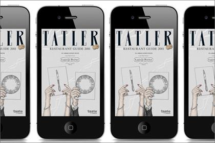 Tatler: launches restaurant guide app